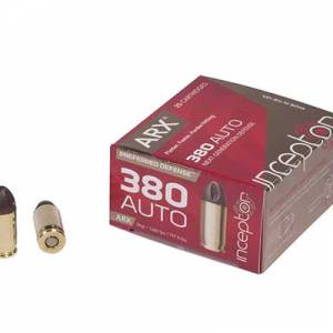 Inceptor by Polycase ARX .380 Auto 56 grain ARX 25 rounds