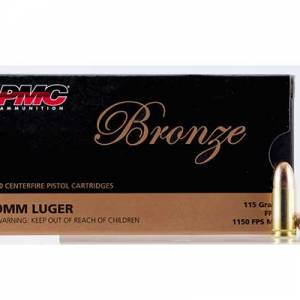 PMC 9MM 115 GR FMJ 50 RD