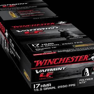 Winchester Varmint LF 17 HMR 15.5 Grain PolymerTip NTX 50 rounds