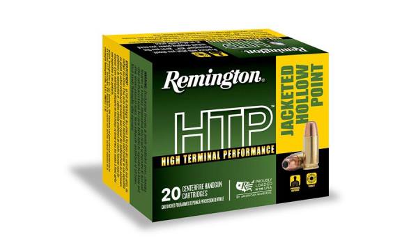 Remington HTP 45 Auto 185 Grain Jacketed Hollow Point 50 rounds